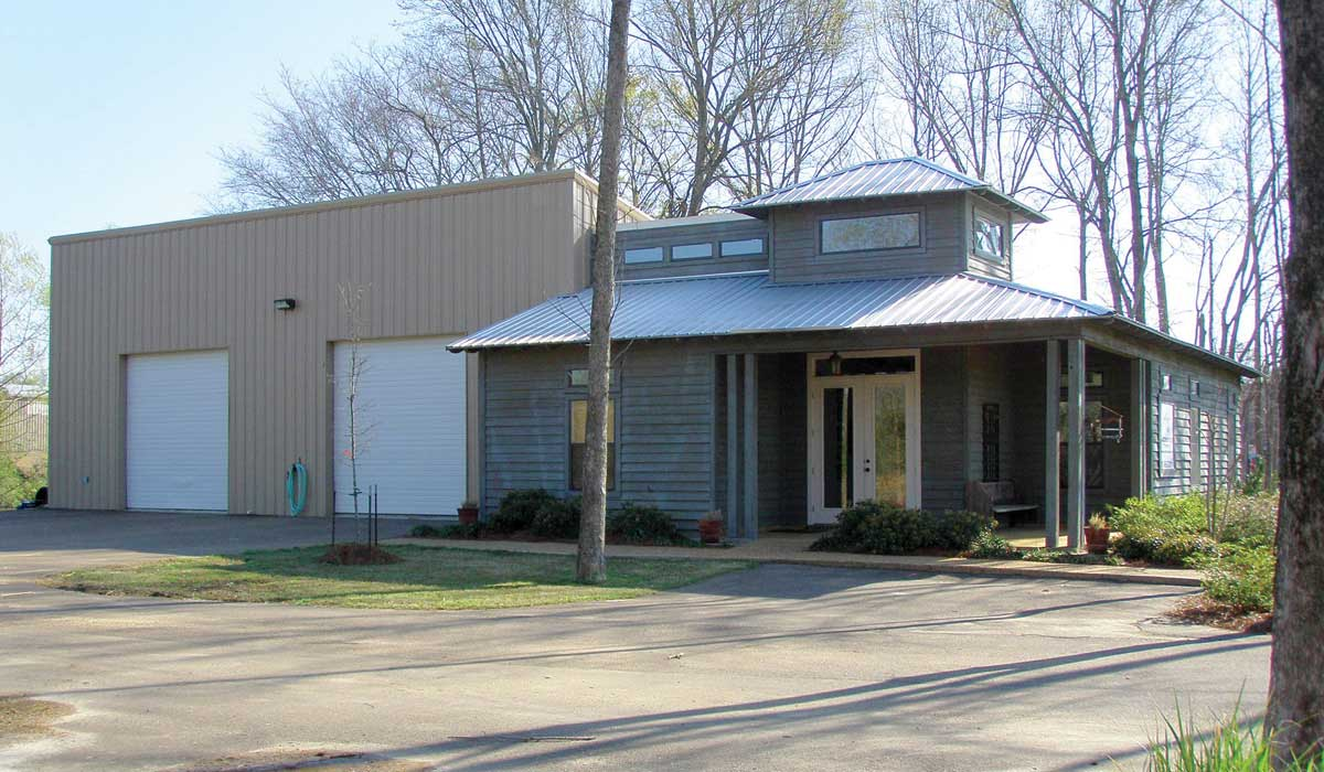 Metal Roofing & Metal Building Systems in Jackson, MS