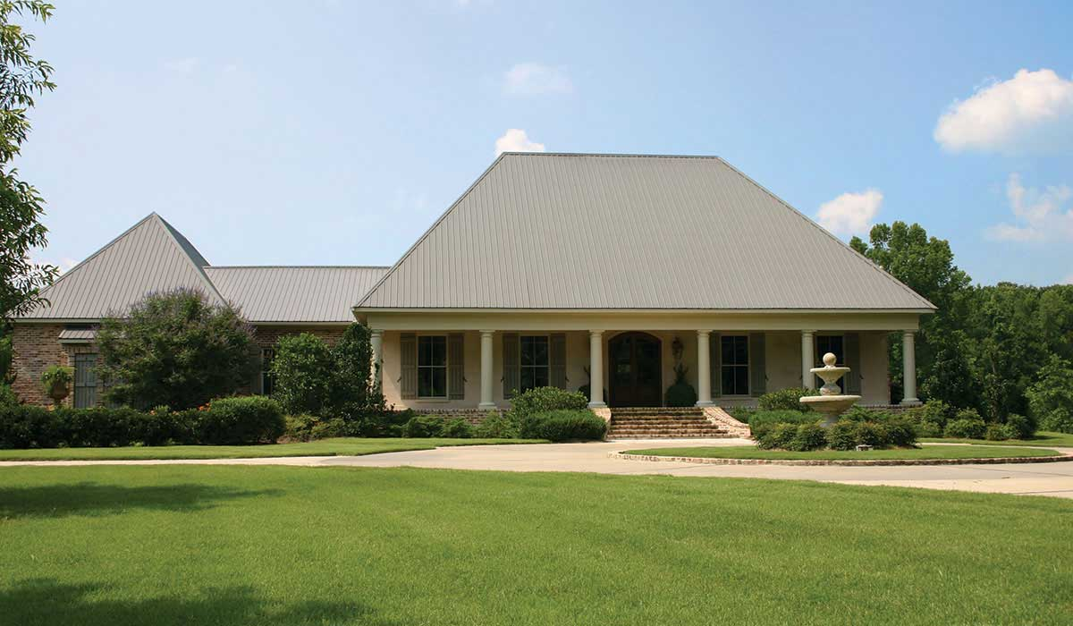Metal roofing metal building systems in jackson ms for Home builders ms